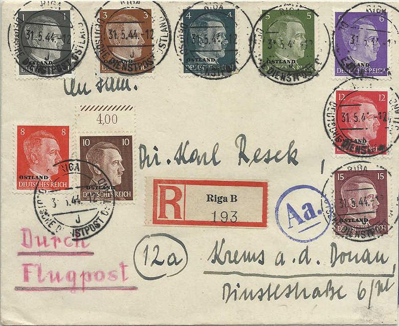 litauen - Deutsche Besetzungsausgaben im II. Weltkrieg - Seite 8 Ostlan10