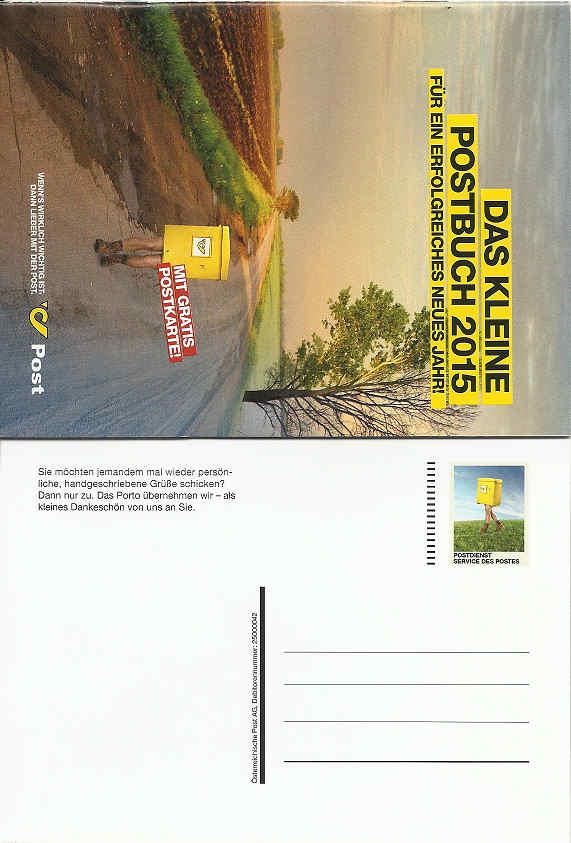 Postdienst - Karten (Werbepostkarten der Post) Postbu10