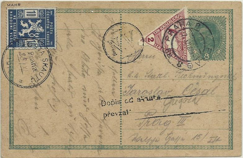 1914 - 1918   Der Untergang der K.u.K. Monarchie Skaute10