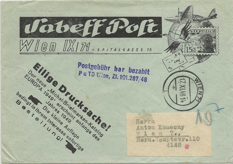 Händlerwerbung 1947/1948 Werbun10
