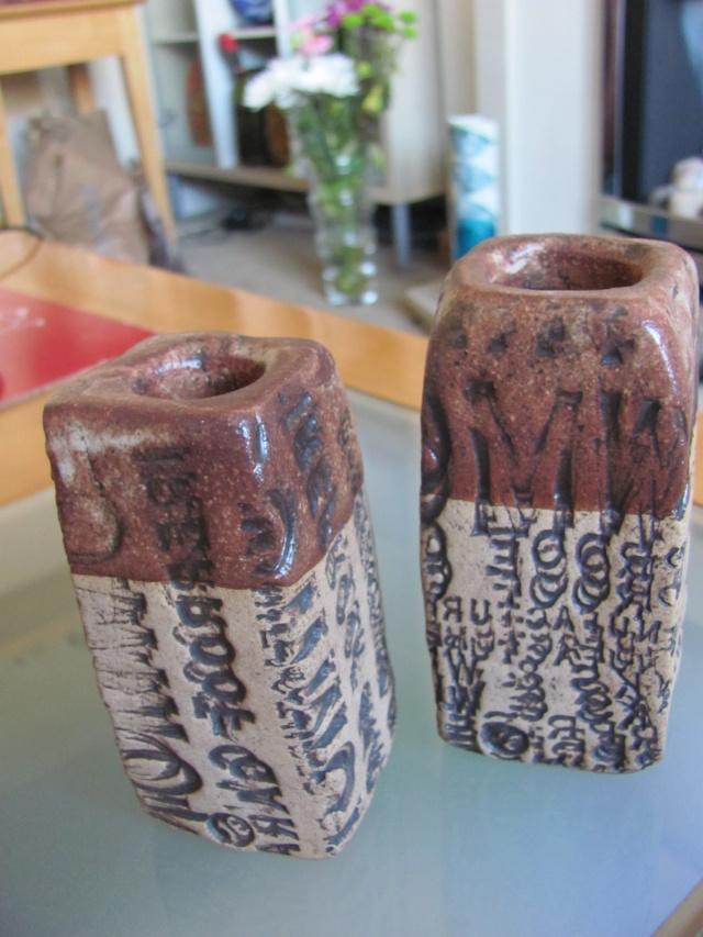 Stoneware Vases with impressed lettering, JE mark Img_8313