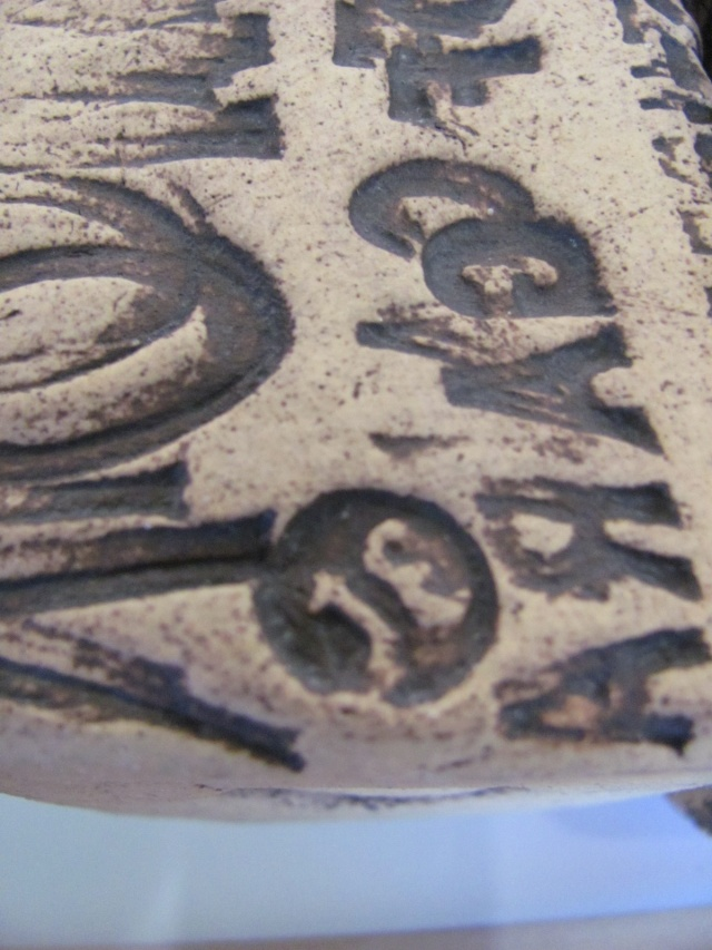 Stoneware Vases with impressed lettering, JE mark Img_8315