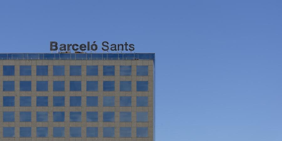 Architecture des bâtiments à Barcelone _dsc1911