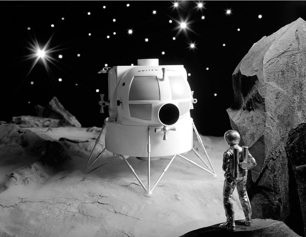 Le module lunaire d'Apollo 1000px10