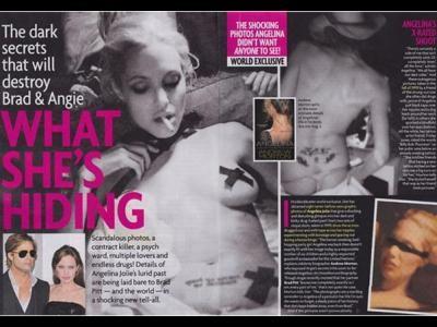 Escandalosas fotos íntimas de Angelina Jolie salen a la luz F026b410