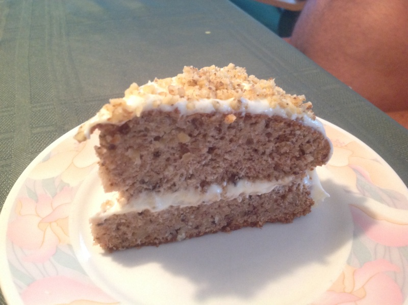 Gateau oiseau-mouche et noix  (Walnut Hummingbird Cake Recipe) Photo_12