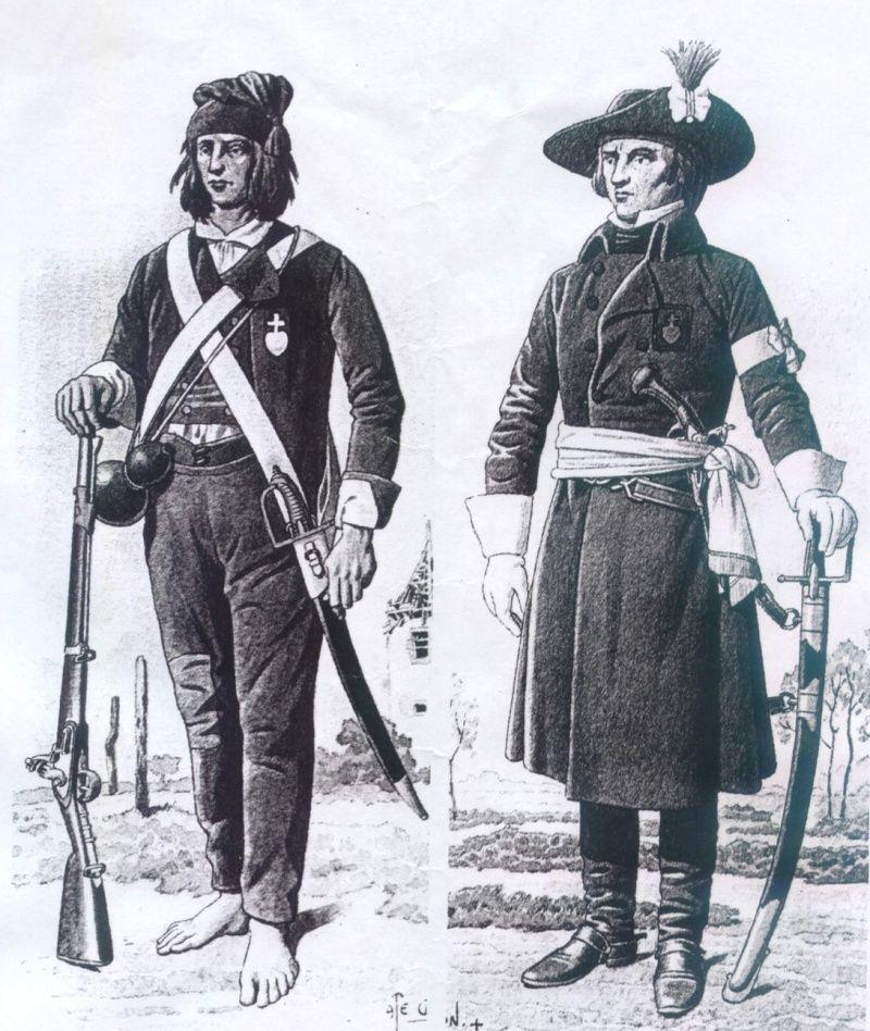 Uniformologie guerres de Vendée Goicho11