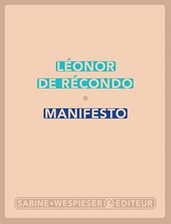 [Récond, Léonor (de)] Manifesto Cvt_ma11