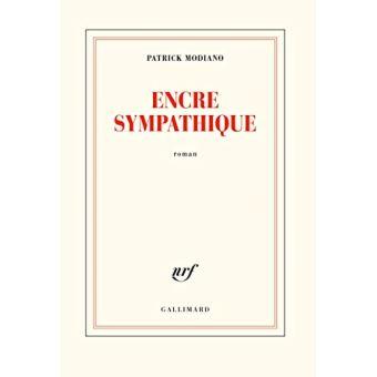 [Modiano, Patrick] Encre sympathique Encre-11