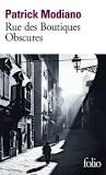 [Modiano, Patrick] Rue des boutiques obscures Sans-t10