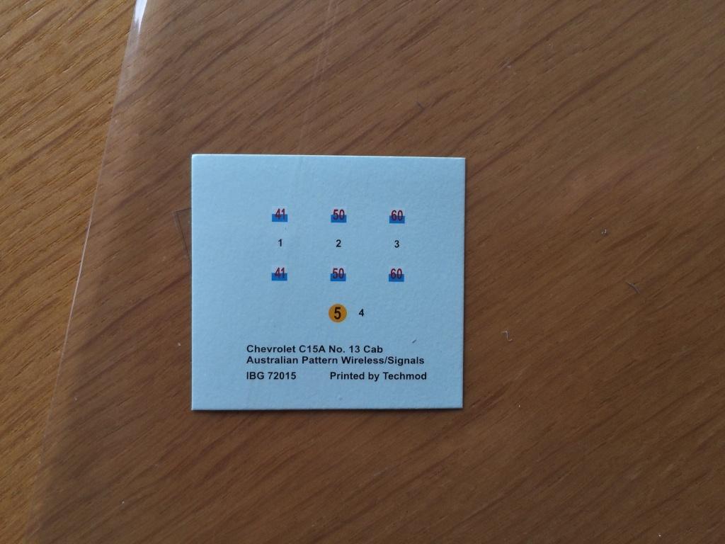 CHEVROLET C15a n13 CAB IBG 72015 + photodécoupe PART  0115e510