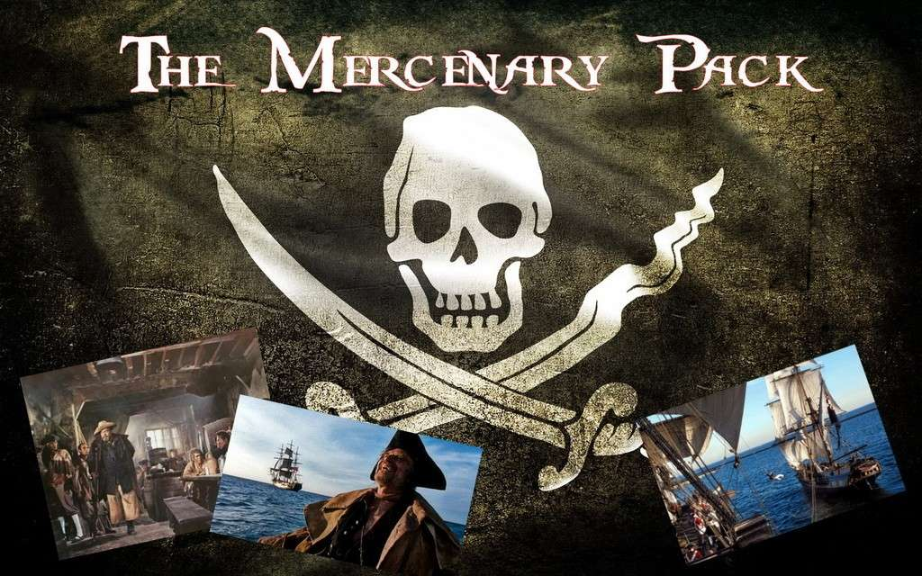 Le Repaire des Mercenary Pack