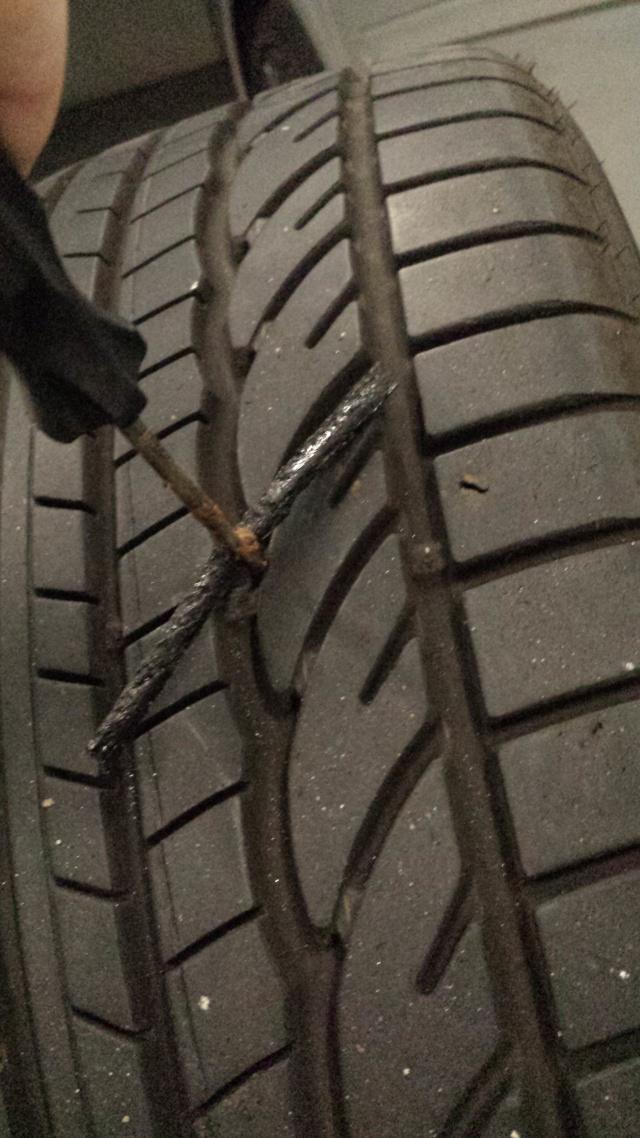 [Tuto] Réparation pneu à l'aide d'une mèche 20140718