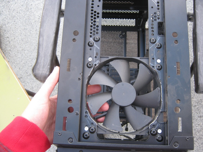 Corsair 760T + Tri-Way Crossfire  R9 290X + 4790K  Watercooler Img_0115