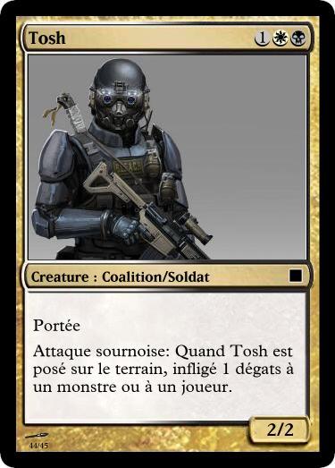 Des Cartes pour le dieu des Cartes! Tosh13