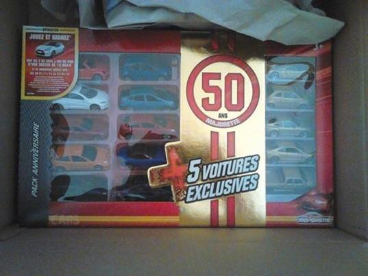 Pack anniversaire des 50 ans de Majorette. 10641110