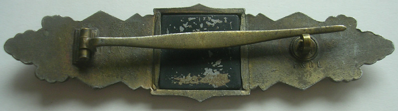 Barette des corps à corps - classe bronze - F&BL Barett11