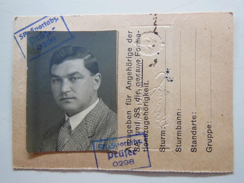 Document + Brevet Sportif de la SA - classe bronze Dscn8414