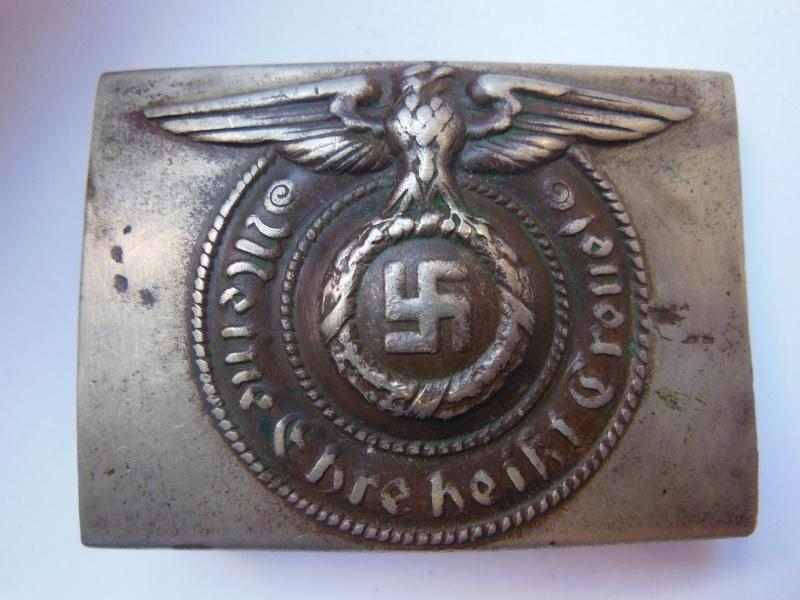 Boucle SS Troupe (maillechort) - GZM M1/131 Dscn8530