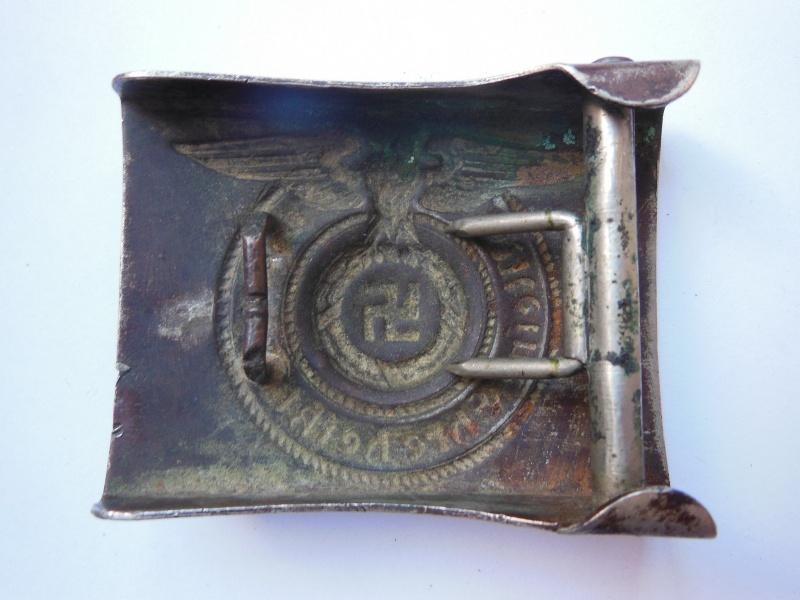 Boucle SS Troupe (maillechort) - GZM M1/131 Dscn8531