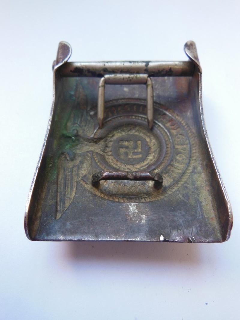 Boucle SS Troupe (maillechort) - GZM M1/131 Dscn8532