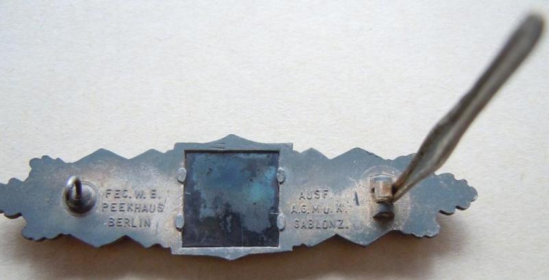 Barette des corps à corps - classe argent - AGMUK Dscn9730