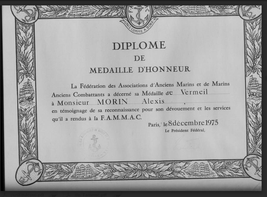Recherche informations sur mon grand-père Alexis MORIN QM2 mécan 1920/1922  Alexis12