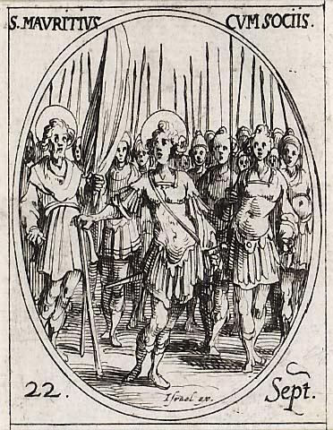 Saint Maurice et ses compagnons, martyrs 0922ma10
