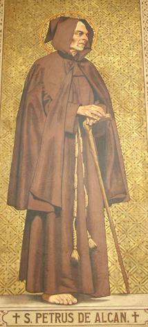 Saint Pierre d'Alcantara, confesseur Pierre10