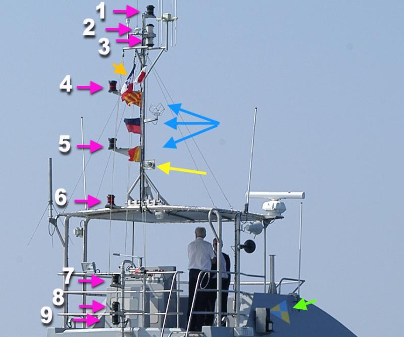 VCSM 20m de la gendarmerie maritime Feux10