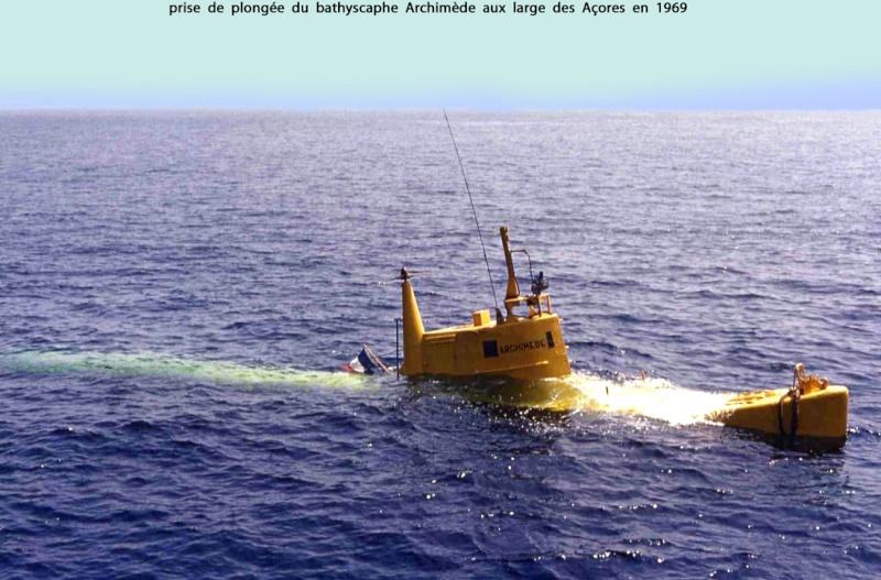 [ Divers - Les classiques ] BATHYSCAPHE ARCHIMEDE 1_50210