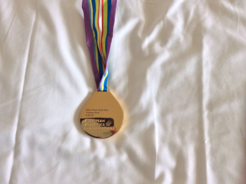 Championnats d'europe 2014 - 50km Hommes  10494910