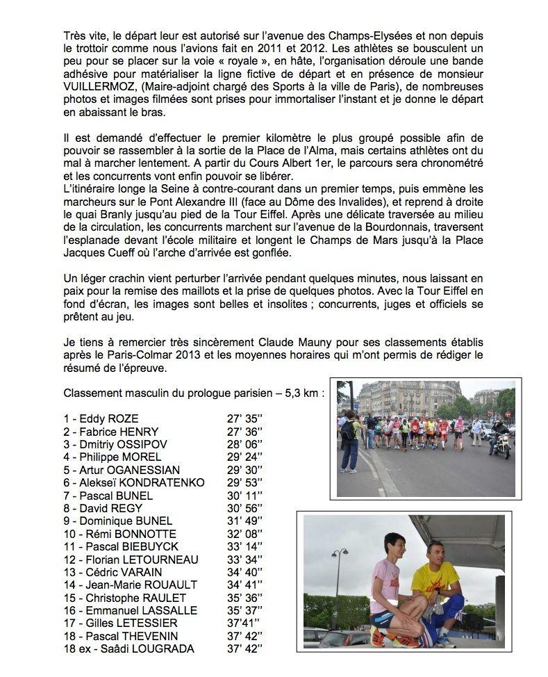 Jean CECILLON  (résumé de Paris-Colmar 2013) Cacill10