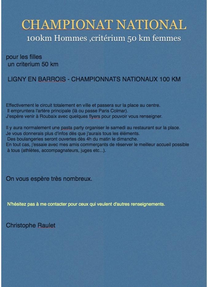 championnat National 100 KM à Ligny 26:10 Sans_t12