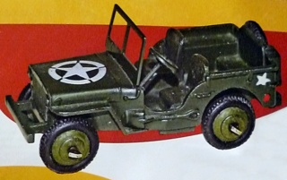 """""""Falsi"""" Miti - Dinky Toys Collection  Jeep11"""