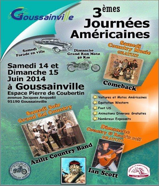 3èmes Journées Américaines - Goussainville - 60 Goussa10