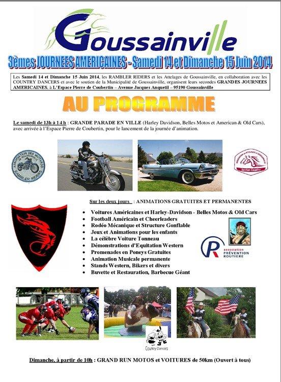 3èmes Journées Américaines - Goussainville - 60 Goussa11