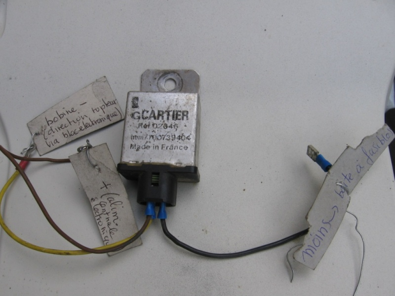 electronique - Circuit allumage électronique pour rupteur Cartie10