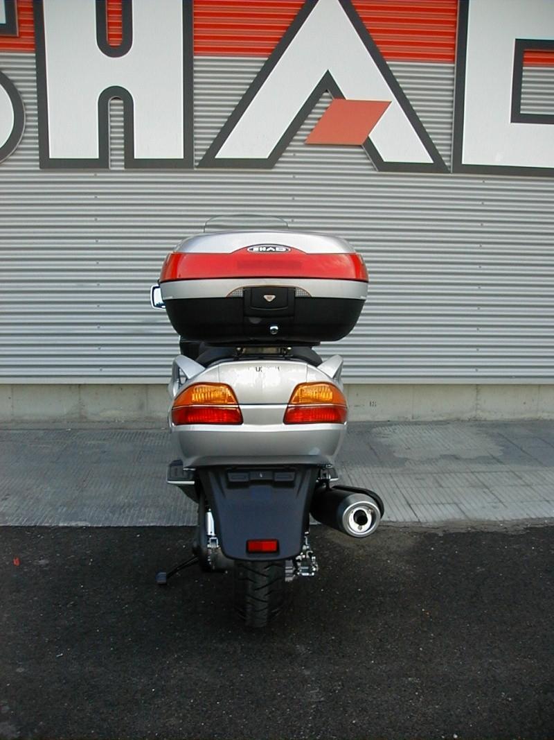 Pictures Suzuki Burgman with SHAD Motorcases 09060011