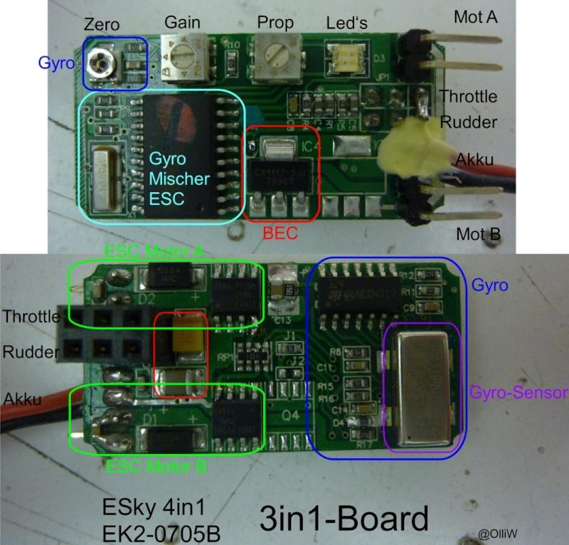 Radio 7 voies programmable 2,4ghz WFT07 + 1 Récepteur 2,4ghz - Page 2 Esky-410