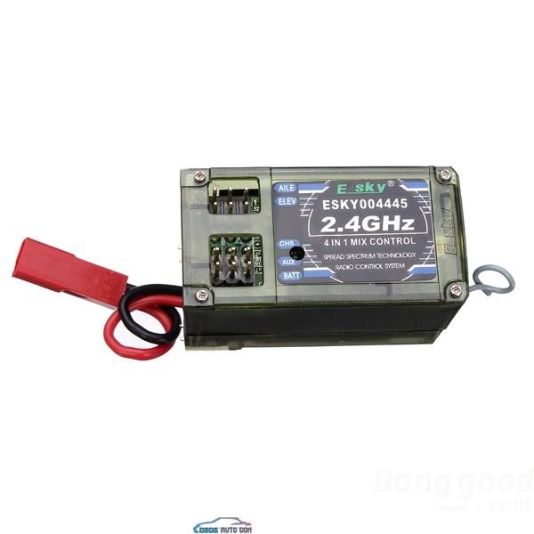 Radio 7 voies programmable 2,4ghz WFT07 + 1 Récepteur 2,4ghz Obd2-o10