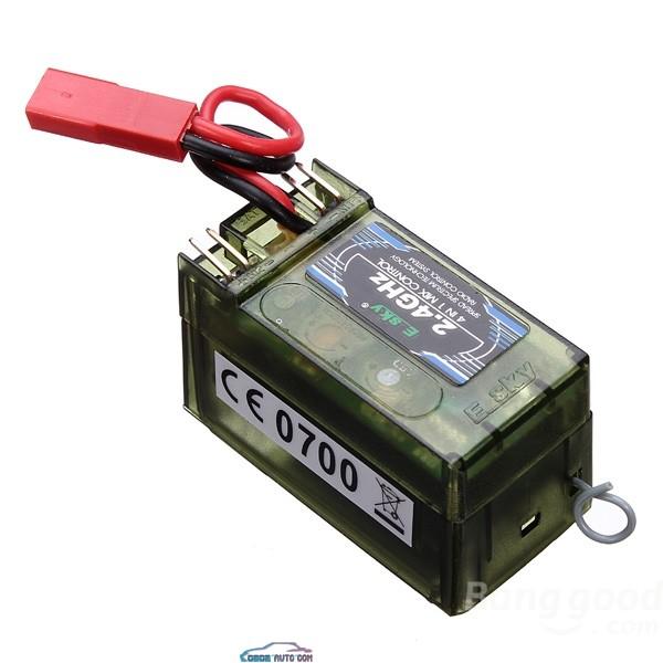 LAMA - Radio 7 voies programmable 2,4ghz WFT07 + 1 Récepteur 2,4ghz Obd2-o11
