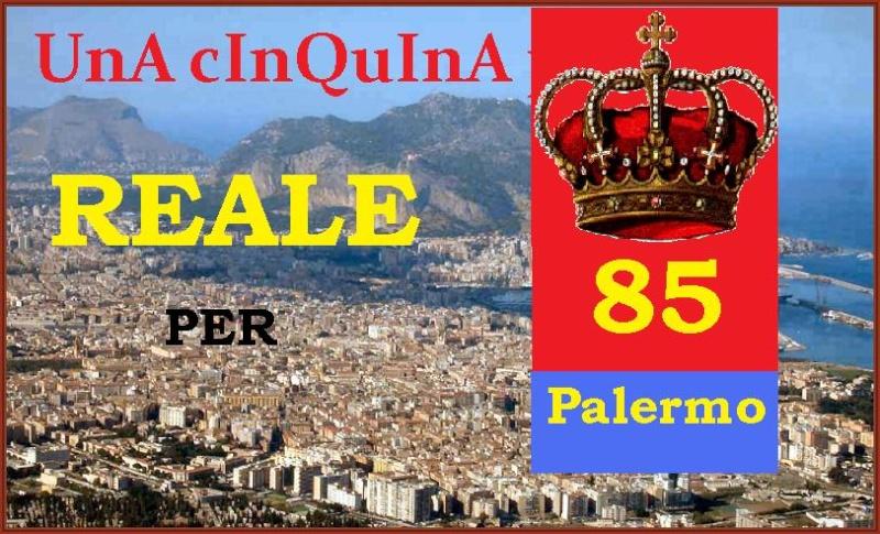 TopClub: PREVISIONE ESCLUSIVA CINQUINA REALE CON L'85 Palerm10