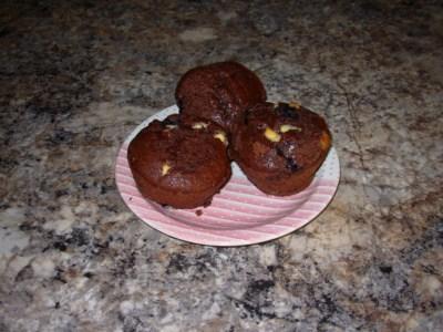 Muffins double chocolat et bleuet Muffin10