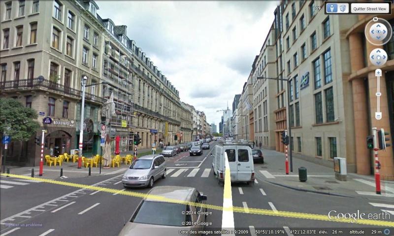 Lieux de tournage de vidéo-clip découverts avec Google Earth Bruxel11