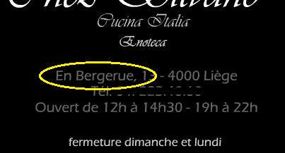 En Bergerue : la seule rue sans titre de Belgique (Liège) Main10