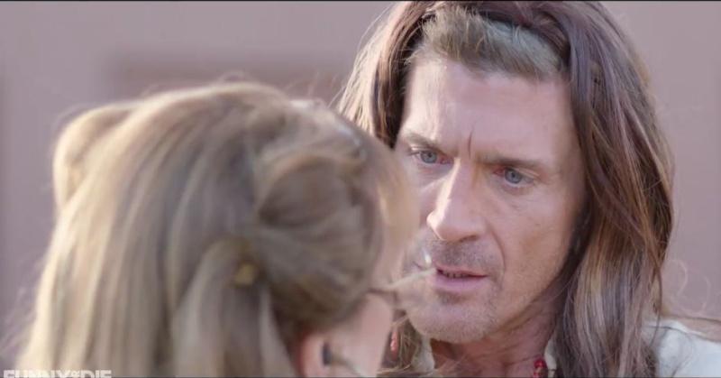 """Vidéo pour """"Funny or Die"""" avec les acteurs de Dr Quinn Captur17"""