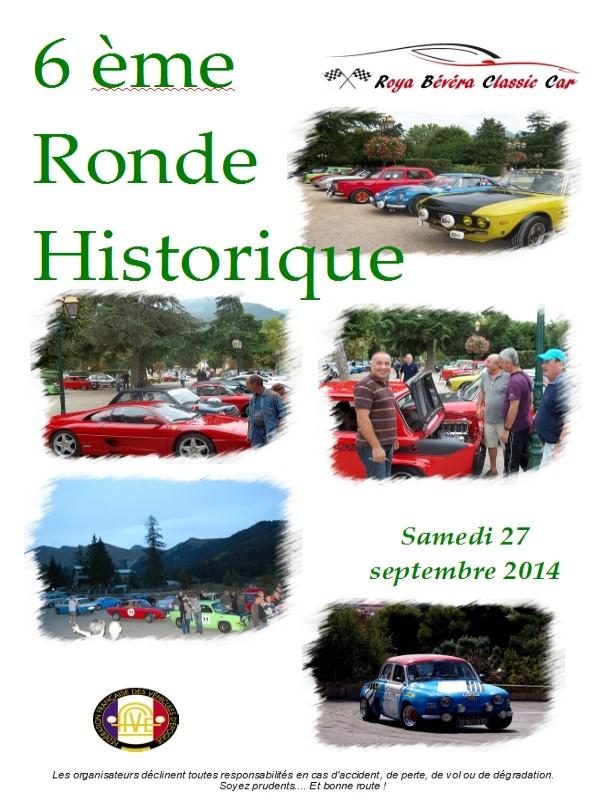 [06][27/09/2014] 6ème Ronde historique RB Classic Car Ronde_11