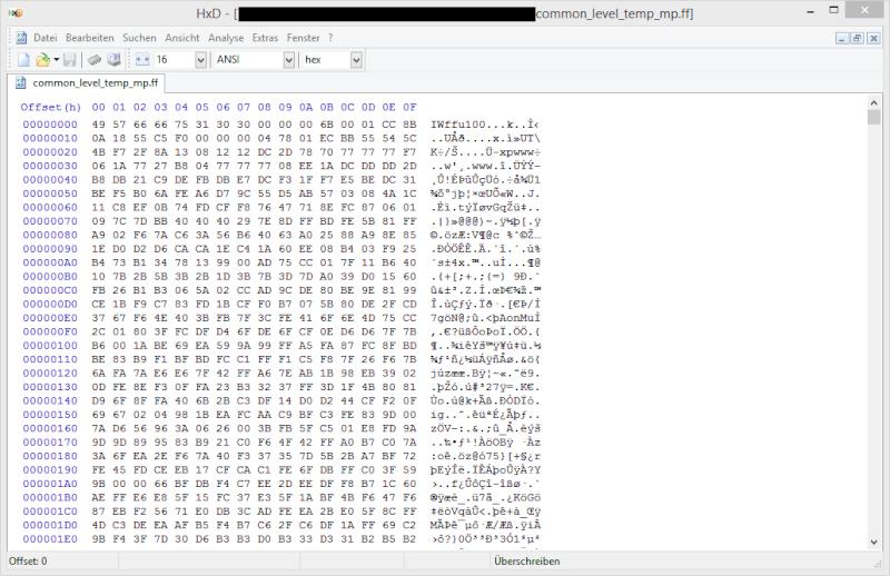 Decompressing MW3 Wii .ff Files? Hxd_co11
