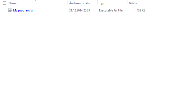 Converting Jar Files To Windows Executables Jar_fi10